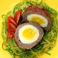 #ReceitaFit: Bolinho de Carne Recheado com Ovo